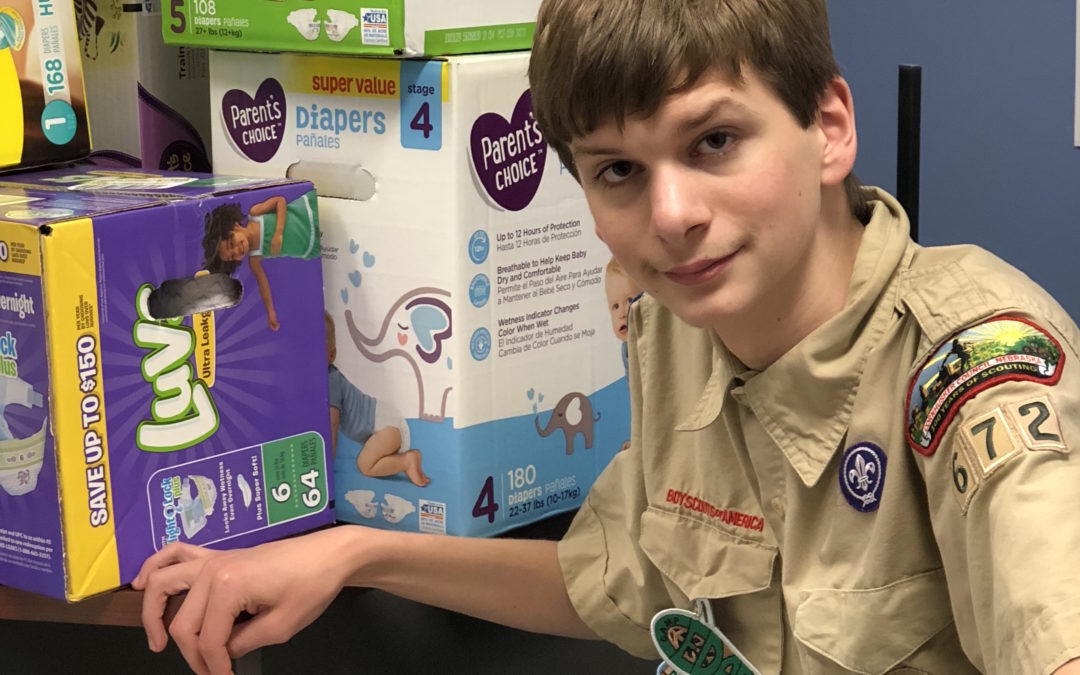 The Power of One: Ben's Diaper Drive